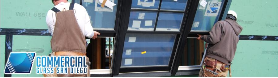 commercial glass san diego storefront window door repair replacement 4