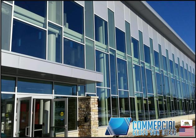 commercial storefront glass san diego ca window door replacement 153